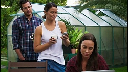Shaun Watkins, Elly Conway, Bea Nilsson in Neighbours Episode 8396