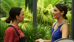 Bea Nilsson, Elly Conway in Neighbours Episode 8396