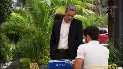Paul Robinson, David Tanaka in Neighbours Episode 8396