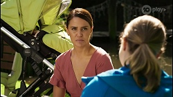 Elly Conway, Fiona Cook in Neighbours Episode 8397