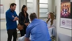 Shane Rebecchi, Dipi Rebecchi, Mackenzie Hargreaves in Neighbours Episode 8398