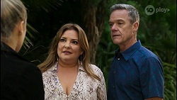 Roxy Willis, Terese Willis, Paul Robinson in Neighbours Episode 8399
