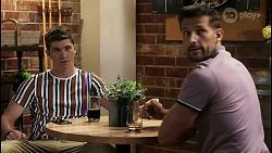 Hendrix Greyson, Pierce Greyson in Neighbours Episode 8399