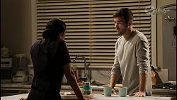 Yashvi Rebecchi, Ned Willis in Neighbours Episode 8399
