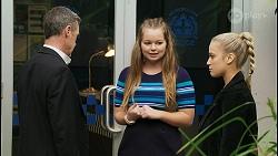 Paul Robinson, Harlow Robinson, Roxy Willis in Neighbours Episode 8399