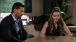 Pierce Greyson, Chloe Brennan in Neighbours Episode 8399