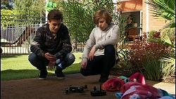 Louis Curtain, Emmett Donaldson in Neighbours Episode 8400