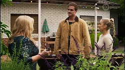 Sheila Canning, Kyle Canning, Roxy Willis in Neighbours Episode 8400