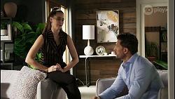 Chloe Brennan, Pierce Greyson in Neighbours Episode 8401