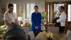 Shaun Watkins, Elly Conway, Toadie Rebecchi in Neighbours Episode 8402
