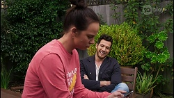 Bea Nilsson, Shaun Watkins in Neighbours Episode 8402