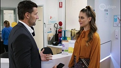 Pierce Greyson, Chloe Brennan in Neighbours Episode 8402