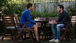Elly Conway, Shaun Watkins in Neighbours Episode 8402