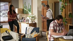 Dipi Rebecchi, Toadie Rebecchi, Shane Rebecchi in Neighbours Episode 8403