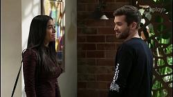 Yashvi Rebecchi, Ned Willis in Neighbours Episode 8403