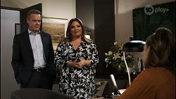 Paul Robinson, Terese Willis, Chloe Brennan in Neighbours Episode 8403