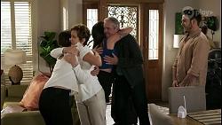 Elly Conway, Susan Kennedy, Bea Nilsson, Karl Kennedy, Shaun Watkins in Neighbours Episode 8404