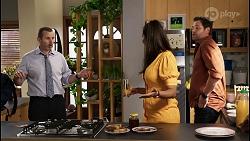 Toadie Rebecchi, Dipi Rebecchi, Shane Rebecchi in Neighbours Episode 8405