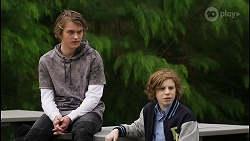 Brent Colefax, Emmett Donaldson in Neighbours Episode 8405