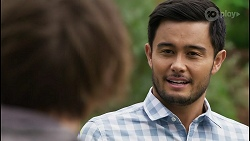 Brent Colefax, David Tanaka in Neighbours Episode 8405