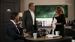 Pierce Greyson, Paul Robinson, Terese Willis in Neighbours Episode 8406