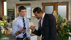 Hendrix Greyson, Pierce Greyson in Neighbours Episode 8406