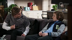 Brent Colefax, Emmett Donaldson in Neighbours Episode 8406