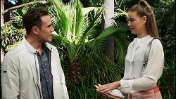 Aaron Brennan, Chloe Brennan in Neighbours Episode 8407