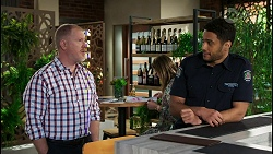 Clive Gibbons, Levi Canning in Neighbours Episode 8408