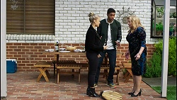 Roxy Willis, Levi Canning, Sheila Canning in Neighbours Episode 8408