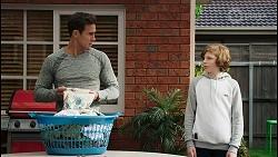 Aaron Brennan, Emmett Donaldson in Neighbours Episode 8408