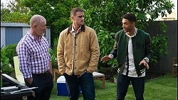 Clive Gibbons, Kyle Canning, Levi Canning in Neighbours Episode 8408