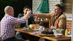 Clive Gibbons, Levi Canning, Kyle Canning in Neighbours Episode 8408