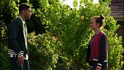 Levi Canning, Bea Nilsson in Neighbours Episode 8409