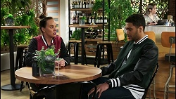 Bea Nilsson, Levi Canning in Neighbours Episode 8409