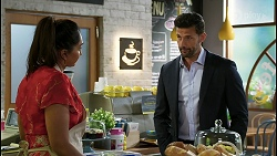 Dipi Rebecchi, Pierce Greyson in Neighbours Episode 8409