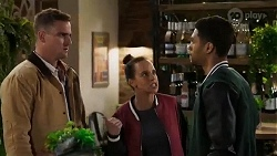 Kyle Canning, Bea Nilsson, Levi Canning in Neighbours Episode 8410