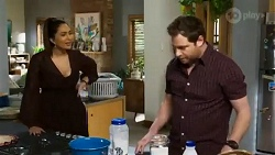 Dipi Rebecchi, Shane Rebecchi in Neighbours Episode 8410