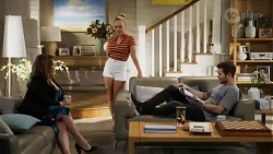 Terese Willis, Roxy Willis, Ned Willis in Neighbours Episode 8410