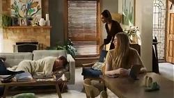 Shane Rebecchi, Dipi Rebecchi, Mackenzie Hargreaves in Neighbours Episode 8410