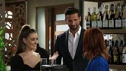 Chloe Brennan, Pierce Greyson, Nicolette Stone in Neighbours Episode 8411