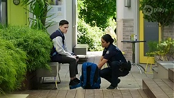 Ollie Sudekis, Yashvi Rebecchi in Neighbours Episode 8411