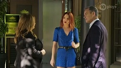 Terese Willis, Nicolette Stone, Paul Robinson in Neighbours Episode 8411