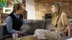 Harlow Robinson, Mackenzie Hargreaves in Neighbours Episode 8411