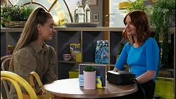 Chloe Brennan, Nicolette Stone in Neighbours Episode 8413