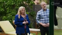 Sheila Canning, Clive Gibbons in Neighbours Episode 8414