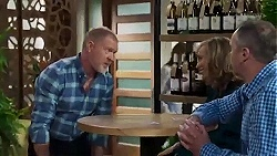 Clive Gibbons, Jane Harris, Karl Kennedy in Neighbours Episode 8414