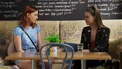 Nicolette Stone, Chloe Brennan in Neighbours Episode 8414