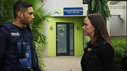 Levi Canning, Bea Nilsson in Neighbours Episode 8415