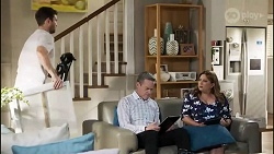 Ned Willis, Paul Robinson, Terese Willis in Neighbours Episode 8416